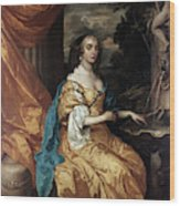 Ann Hyde, Duchess Of York (1637-1671) Wood Print