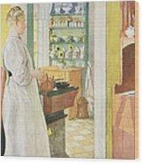Anna Arnbom , Pub. In Lasst Licht Hinin Wood Print