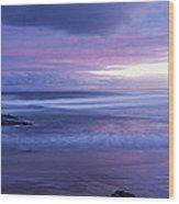 Anna Bay Sunset Wood Print