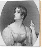 Anna Brownell Jameson  Writer Wood Print