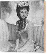 Anna Karenina, Vivien Leigh, 1948, Tm & Wood Print