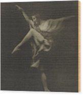 Anna Pavlowa Arnold Genthe, American Wood Print