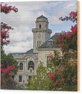 Annapolis Academy Clock Tower Wood Print