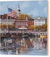 Annapolis Wood Print