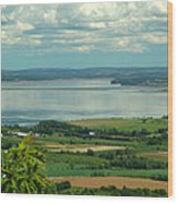 Annapolis Valley No.1 Wood Print by George Cousins