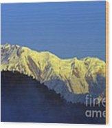 Annapurna Dawn Wood Print