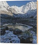 Annapurna Morning Wood Print