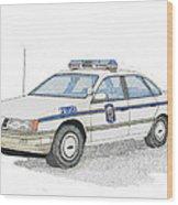 Anne Arundel County Police Wood Print by Calvert Koerber