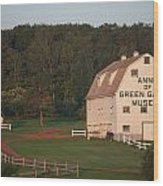 Anne Of Green Gables Museam Wood Print