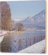 Annecy Fairytale. France Wood Print