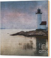 Annisquam Harbor Lighthouse Wood Print