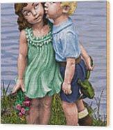 Anniversary Card 5x7 Wood Print