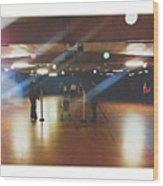 Annnddd...the Limbo On Skates! Wow...i Wood Print