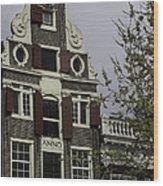 Anno 1644 Amsterdam Wood Print
