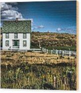 Ann's House Renews Nl Wood Print