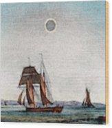 Annular Eclipse Of The Sun Wood Print