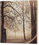 Anomaly Wood Print by Svetlana Sewell