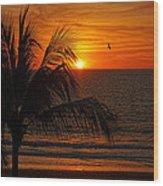 Another Beautiful Sunset Wood Print