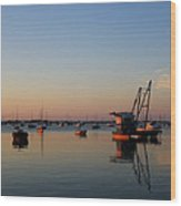 Another Cotuit Dawn Wood Print