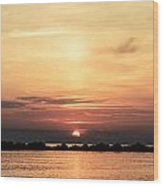 Another Earth - Sunrise On The Sea Wood Print