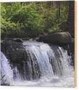 Another Hidden Waterfall Wood Print