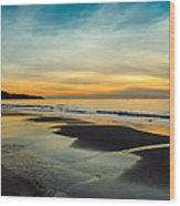 Another Redondo Beach Sunset Wood Print