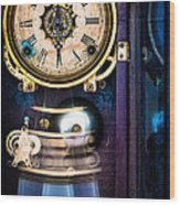 Ansonia Clock Wood Print