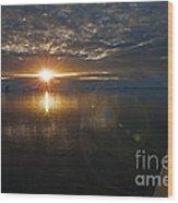 Antarctic Twilight... Wood Print