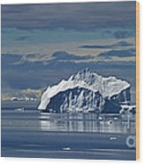 Antarctica.. Wood Print