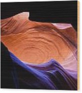 Antelope Canyon - Page Az Wood Print