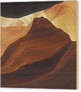 Antelope Canyon 42 Wood Print