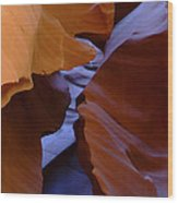 Antelope Canyon 40 Wood Print