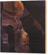 Antelope Canyon 36 Wood Print