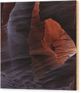 Antelope Canyon 34 Wood Print