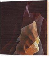 Antelope Canyon 33 Wood Print