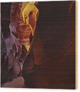 Antelope Canyon 32 Wood Print