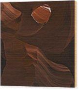 Antelope Canyon 21 Wood Print