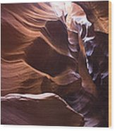 Antelope Canyon 1 Wood Print