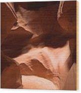 Antelope Canyon 10 Wood Print