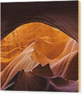 Antelope Canyon 11 Wood Print