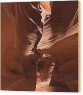Antelope Canyon 11 Wood Print