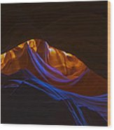 Antelope Canyon 19 Wood Print