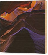 Antelope Canyon 23 Wood Print