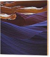 Antelope Canyon 16 Wood Print