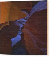 Antelope Canyon 36 Wood Print