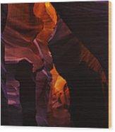 Antelope Canyon 25 Wood Print