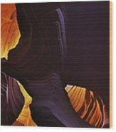 Antelope Canyon 26 Wood Print