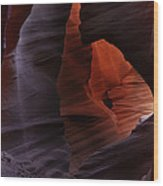 Antelope Canyon 27 Wood Print