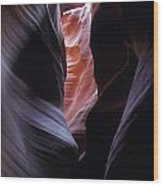 Antelope Canyon 5 Wood Print by Jeff Brunton