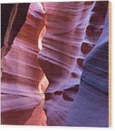 Antelope Canyon Wood Print